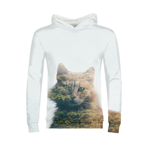 Cat&Forest - Kids Hoodie