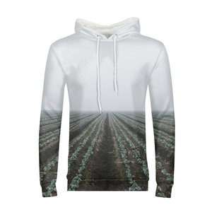 End Of The Field - Mens Hoodie