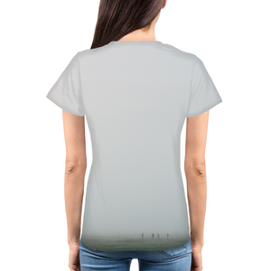 Foggy Field - Womens T-Shirt