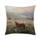 "Wild Horse Throw Pillow Case 16""x16"""