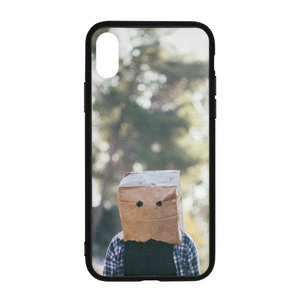 The Hiding Face - iPhone X Case