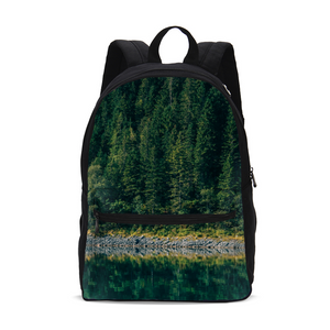 Crazy reflection Small Canvas Backpack