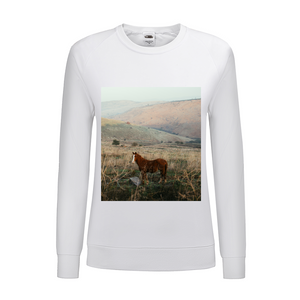 Wild Horse Women's Graphic Sweatshirt