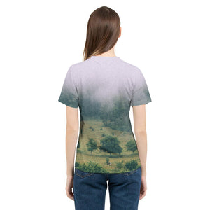 The Hiding Cow - Womens T-Shirt