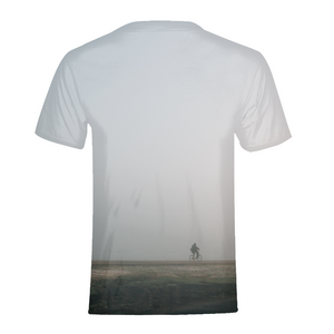 Foggy Rider - Mens T-Shirt