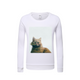 Cat&Forest Kids Graphic Sweatshirt