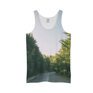 Forested Road Men's Tank