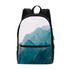 Mountain Tops Small Canvas Backpack