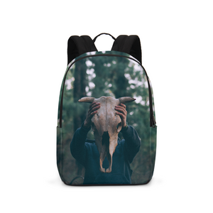Cow Skull Large Backpack