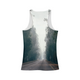 Foggy Forest Road Women's Tank