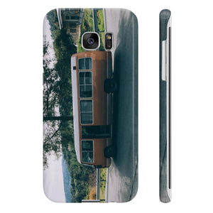 School Bus - Slim iPhone 7,8 Case