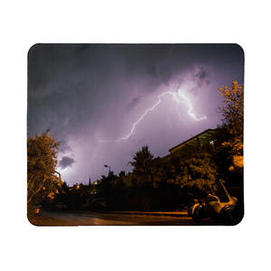 Purple Light Mouse Pad