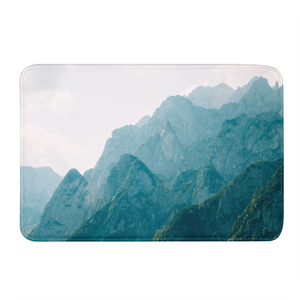 Mountain Tops Bath Mat