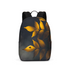 Yellow Leaves Large Backpack