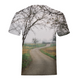 Foggy Trees - Mens T-Shirt