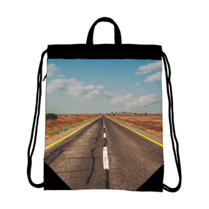 The Infinity Way Drawstring Bag