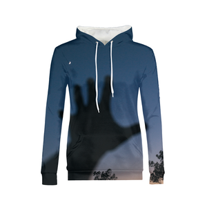Catching The Moon - Womens Hoodie