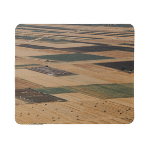 Yellow Fields Mouse Pad