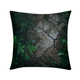 "Breaking Ground Throw Pillow Case 16""x16"""