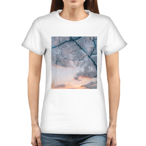 Sky Ground Women's Graphic T-Shirt