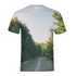 Forested Road Men's T-Shirt