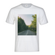 Forested Road Men's Graphic T-Shirt