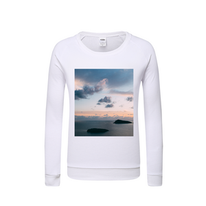 Cloudy Sunset Kids Graphic Sweatshirt