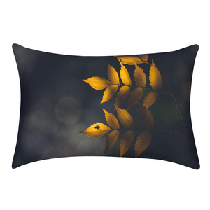 Yellow Leaves Queen Pillow Case
