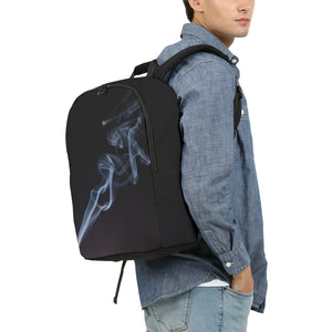 Smoking Kills Large Backpack