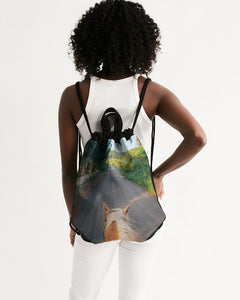 Amirim7 Canvas Drawstring Bag