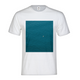 A Man In A Blue Sea Men's Graphic T-Shirt