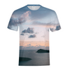 Cloudy Sunset Men's T-Shirt