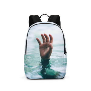 The Lost Hand Large Backpack