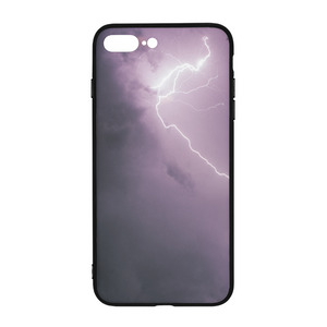 Purple Light iPhone 8 Plus Case