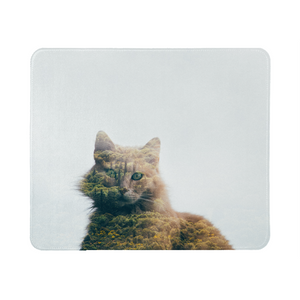 Cat&Forest Mouse Pad