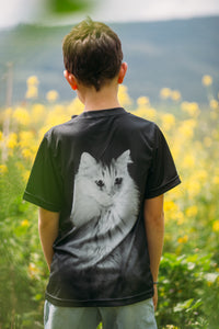 Lighting Cat - Kids T-Shirt