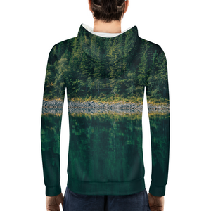 Crazy Reflection - Mens Hoodie