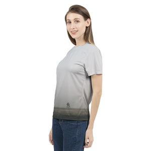 Foggy Rider - Womens T-Shirt