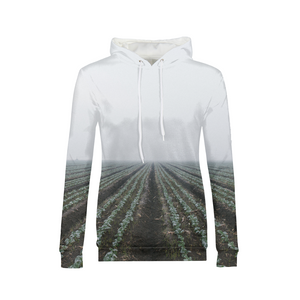 End Of The Field - Womens Hoodie
