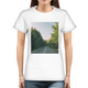 Forested Road Women's Graphic T-Shirt
