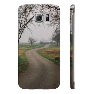 Foggy Trees - Slim Phone Cases