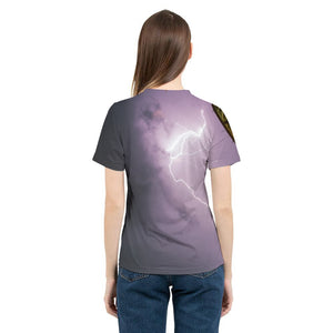 Purple Light Women's T-Shirt
