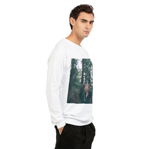 Cow Skull Men's Graphic Sweatshirt