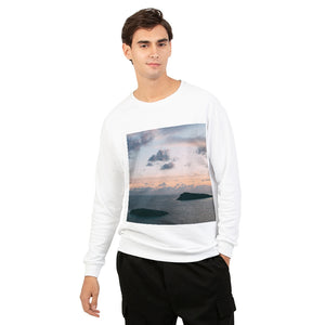Cloudy Sunset Men's Graphic Sweatshirt