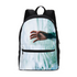 The Lost Hand Small Canvas Backpack