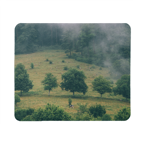 The Hiding Cow Mouse Pad