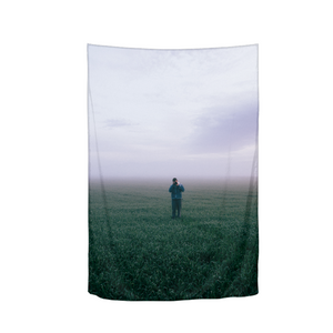 "The Lonely Photographer Tapestry 40""x60"""