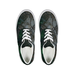 Breaking Ground Lace Up Canvas Shoe