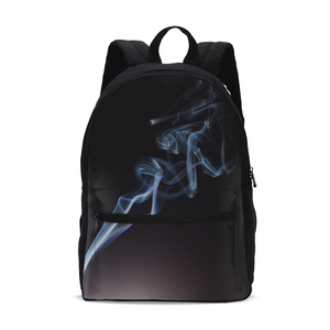 Smoking Kills Small Canvas Backpack