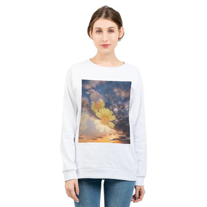 Flower Power Women's Graphic Sweatshirt
